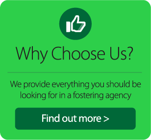 Why Choose Us? We provide everything you should be looking for in a fostering agency. Find out more.